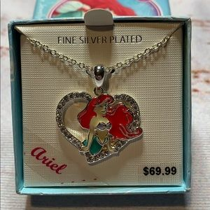 Ariel Fine Silver Plated Necklace